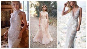 wedding dresses collage 2018
