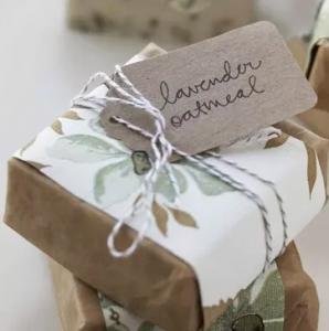 подарочное мыло лаванда